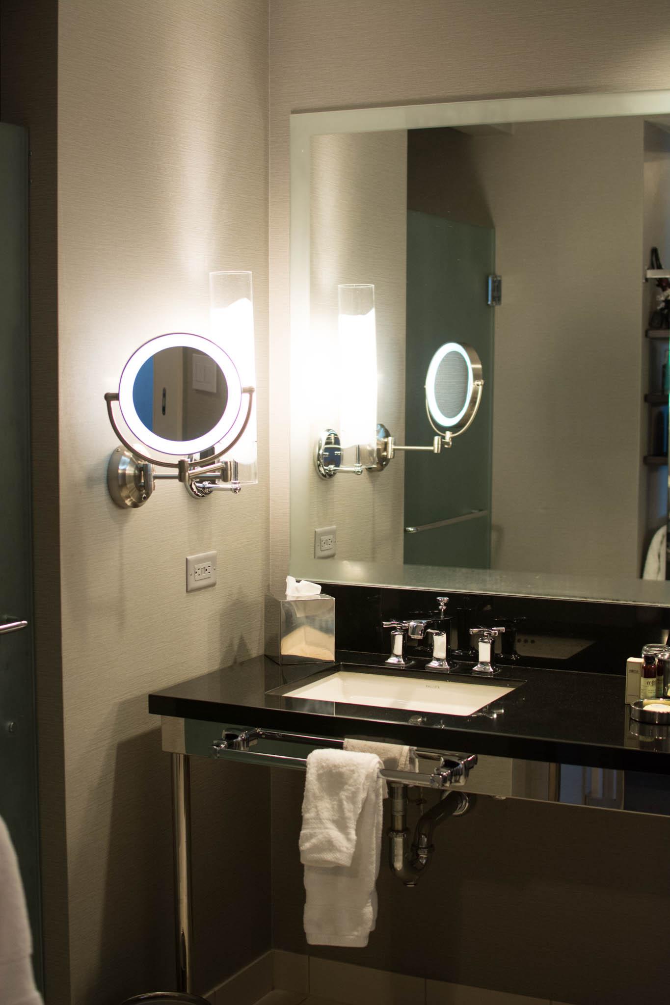 Bathroom Sinks Las Vegas the cosmopolitan hotel las vegas review - flashes of delight