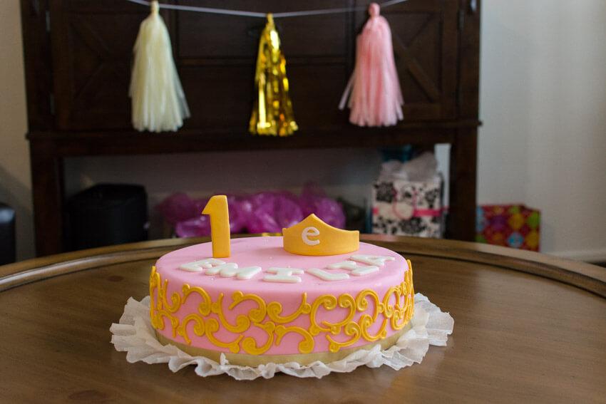 Red Velvet Princess cake