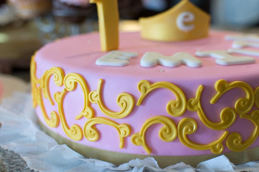Emilia's red velvet princess cake
