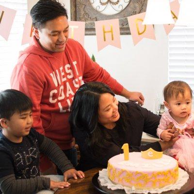 Emilia's First Birthday