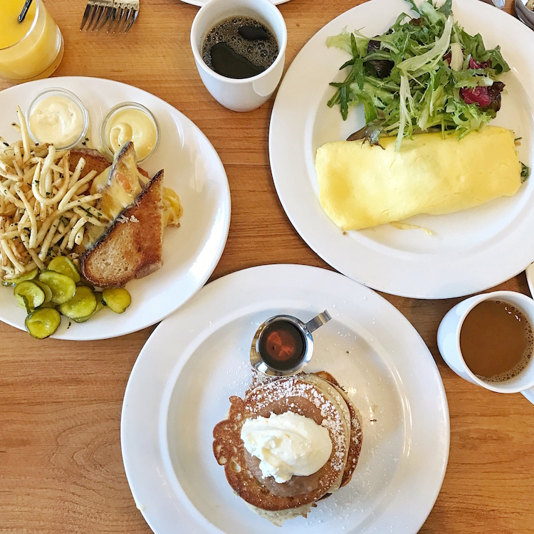 Brunch at The Girl & The Fig