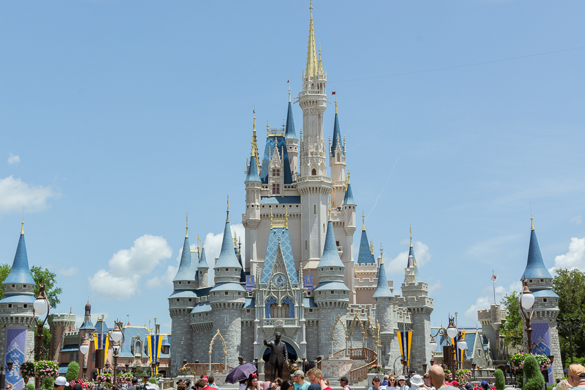Cinderella's Castle at Disney World Orlando Florida