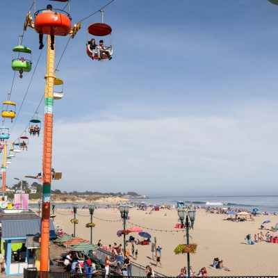 Summers at Santa Cruz Beach Boardwalk