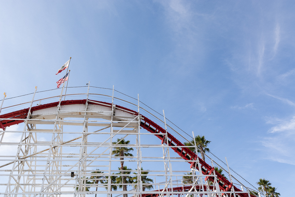 The Big Dipper at Santa Cruz Beach Boardwalk