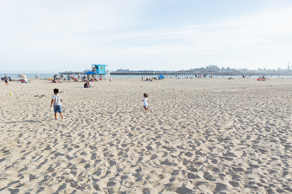 The Beach at Santa Cruz Beach Boardwalk
