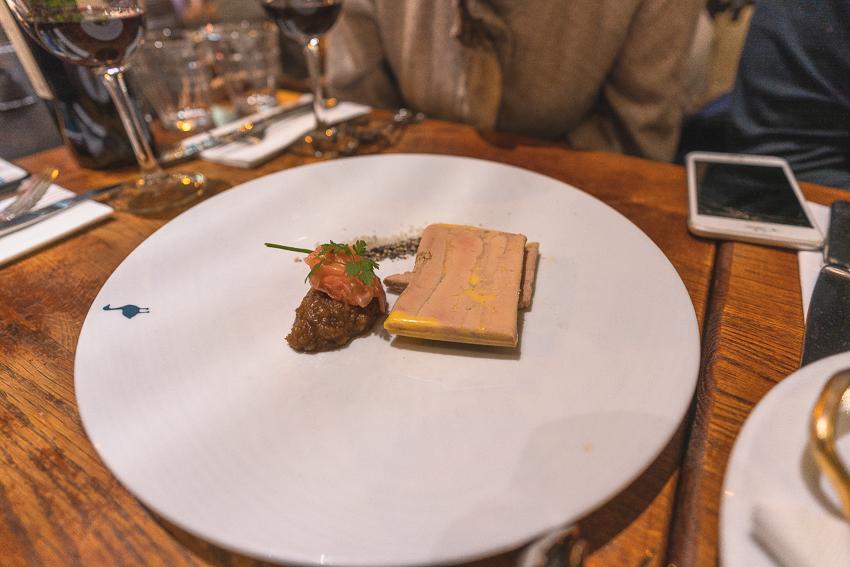 Fois Gras at Le Comtois de la Gastronomie
